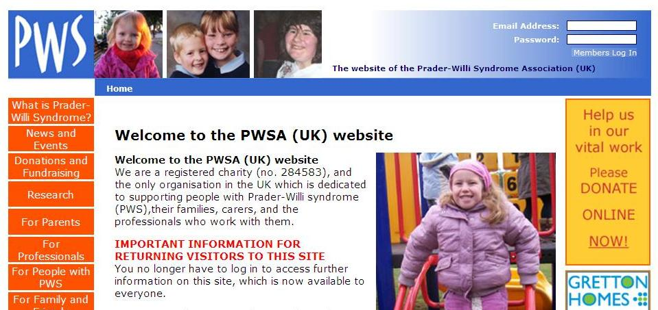 PWSA Website Update